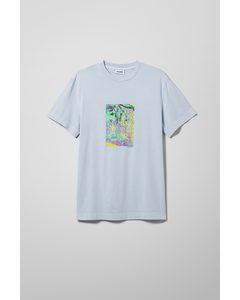 Billy Washed Kontiki T-shirt Light Blue