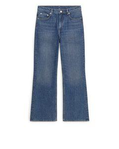 Slim Flared Jeans Blue