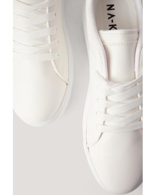 NA-KD Classic Trainers White