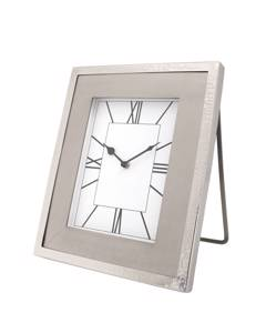 Table Clock Moments 325 silver