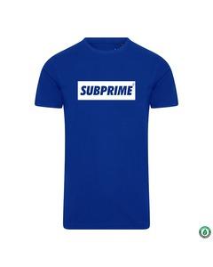 Subprime Shirt Block Royal Blauw