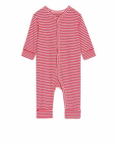 All-in-one Pyjama Red/white