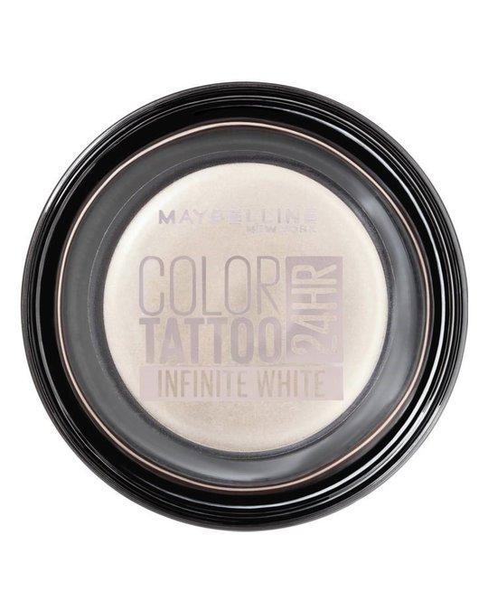 Maybelline Maybelline Color Tattoo 24h Cream Eyeshadow - Infinite White