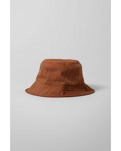 Fine Bucket Hat Brown