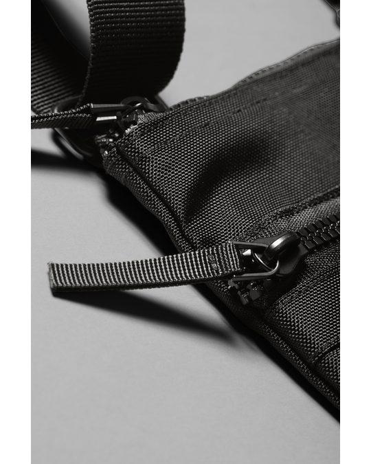 Weekday Julien Crossbody Bag Black