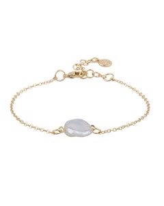 Maxime Pearl Chain Bracelet