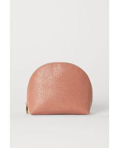 Makeup-väska Gammelrosa