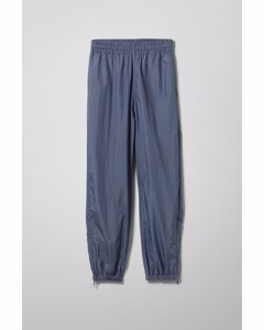 Andrew Woven Joggers Steel Blue