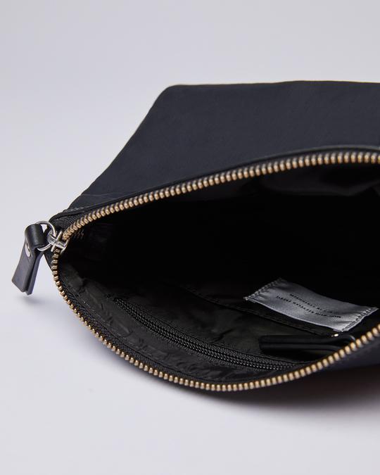 Sandqvist Mikaela Black With Black Leather