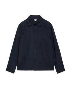 Ripstop Overshirt Dark Blue