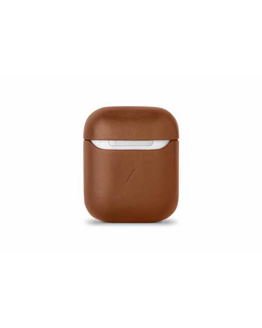 Native Union Leather Case For Airpods Original Brown