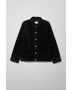 Milton Cord Jacket Black