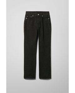 Voyage High Straight Jeans Black