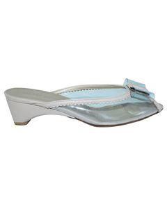 Transparent Low Heels