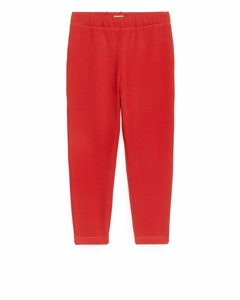Relaxed Sweatpants Red