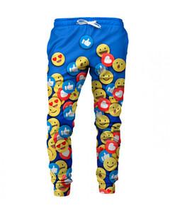 Mr. Gugu & Miss Go React Unisex Sweatpants Happy Blue