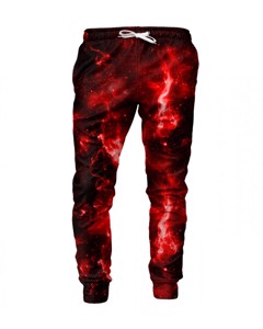 Mr. Gugu & Miss Go Hot Space Unisex Sweatpants Oxblood Red