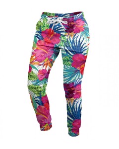 Mr. Gugu & Miss Go Jungle Flowers Unisex Sweatpants Orchid Pink