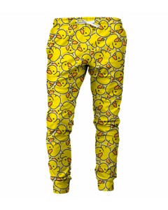 Mr. Gugu & Miss Go Rubber Duck Unisex Sweatpants Happy Yellow