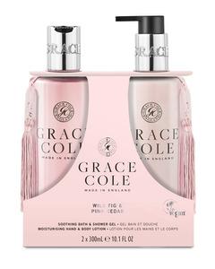 Grace Cole Wild Fig & Pink Cedar Body Care Duo Set