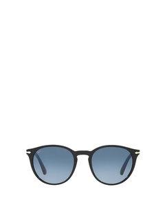 Po3152s Black Solglasögon