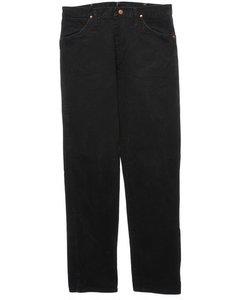 2000s Black Wrangler Jeans