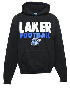 Champion Laker Football Printed Hoodie