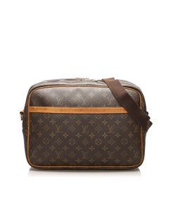 Louis Vuitton Monogram Reporter Gm Brown