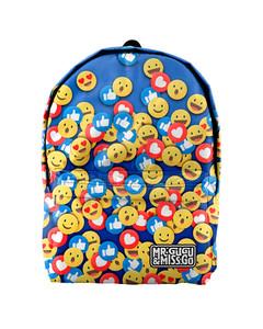Mr. Gugu & Miss Go React Unisex Backpack Emo Blue