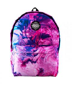 Mr. Gugu & Miss Go Modern Painting Unisex Backpack Ultra Violet