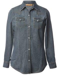 1990s Wrangler Western Denim Shirt