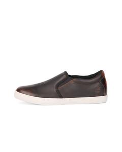 Timberland Women Leather Slip-On Medium Braun