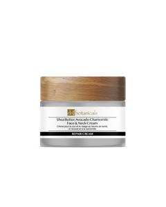 Shea Butter & Avocado Face & Neck Cream With Chamomile Clear