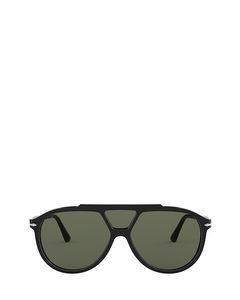 Po3217s Black Solglasögon
