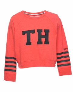 2000s Tommy Hilfiger Printed Sweatshirt