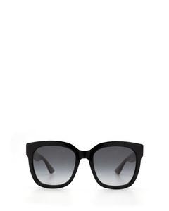Gg0034s Black Solglasögon