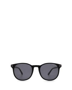 Ft0858-n Shiny Black Solglasögon
