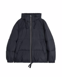 Down Puffer Jacket Black