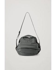 Nylon Gym Bag Grey