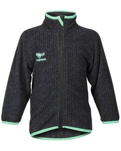 Tiger Fleece Jacket Black/turquoise