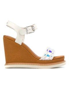 TH Weiße Sandalen