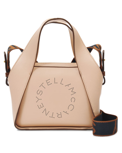 Handbag Small Tote In Blush Eco Nylon