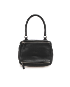 Givenchy Pandora Leather Satchel Black
