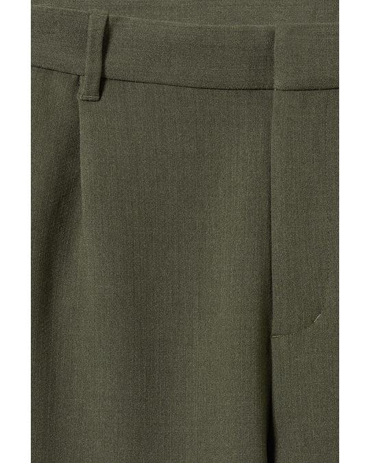 Weekday Mard Trousers Dark Green