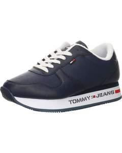 Flatform Runner Sneakers Blau