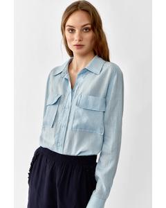 Jonna Shirt  Light Blue