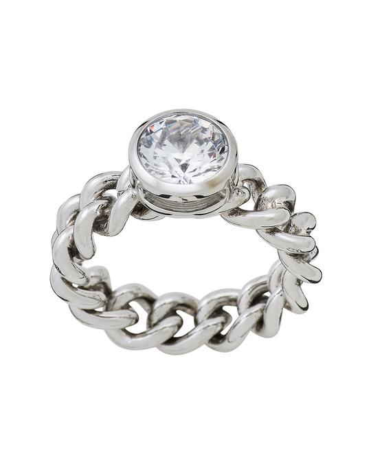 Edblad Lourdes Cz Ring Steel