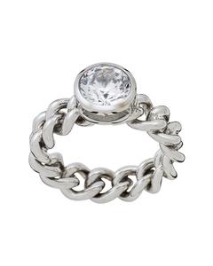 Lourdes Cz Ring Steel