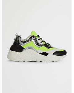Antonia Sneaker B Neon Yellow