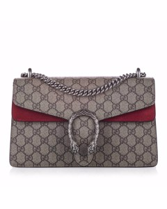 Gucci Small Gg Supreme Dionysus Shoulder Bag Brown